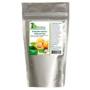Acheter sur Biologiquement.com des amandes amères d'abricot bio anticancer naturel